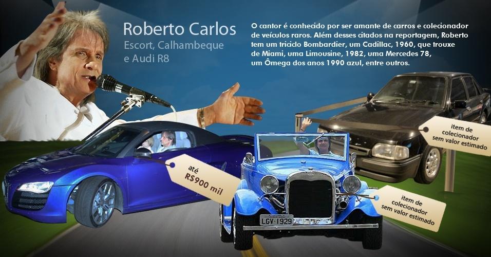Veja os carros usados por músicos brasileiros