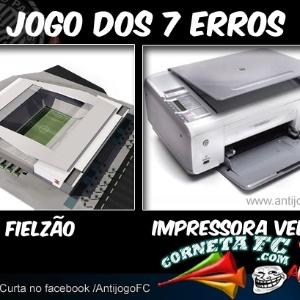 Corneta FC: Pode chamar de Arena Corinthians, Itaquerão, Fielzão...ou de impressora antiga