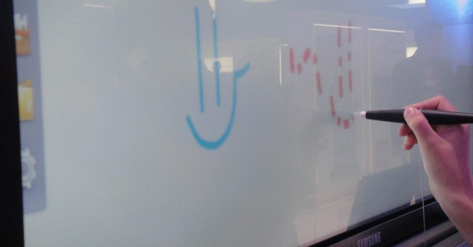 Interactive Board da Samsung lousa