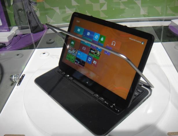 O Dell XPS Duo 12 usa Windows 8, vem com processador core i5 ou i7, tem tela de 12,5 polegadas resistente a riscos (Gorilla Glass)