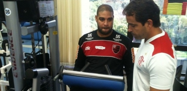 Adriano não seguirá colegas em viagem para Curitiba e tem agenda pesada de treinos