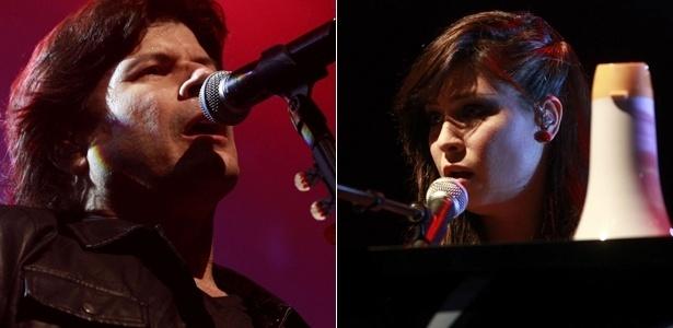 Paulo Ricardo e Pitty se apresentam na mesma noite no HSBC, em São Paulo (31/8/12)
