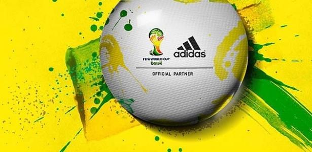 Ainda sem design definido, a bola da Copa de 2014 ganhou o nome de 'Brazuca'