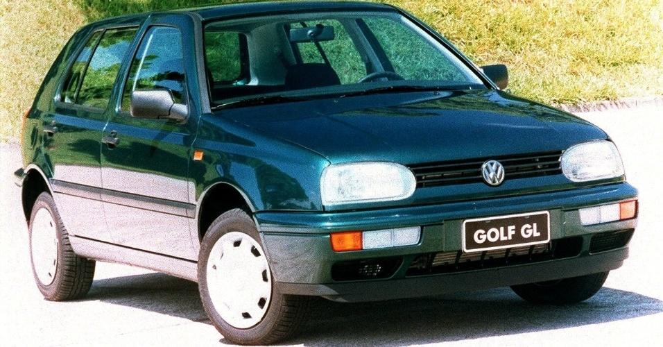 A partir dessa geração, o Golf começou a ser importado para o Brasil, também vindo do México