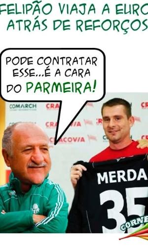 Corneta FC: Europeu de nome peculiar é o novo reforço com a cara do Palmeiras