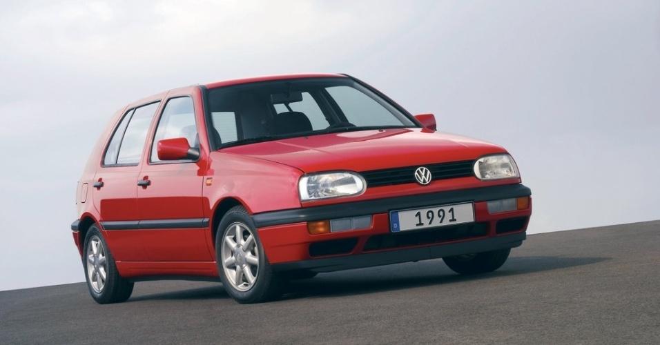 Em 1991 surgiu a terceira geração do carro, que também começou a ser produzida no México