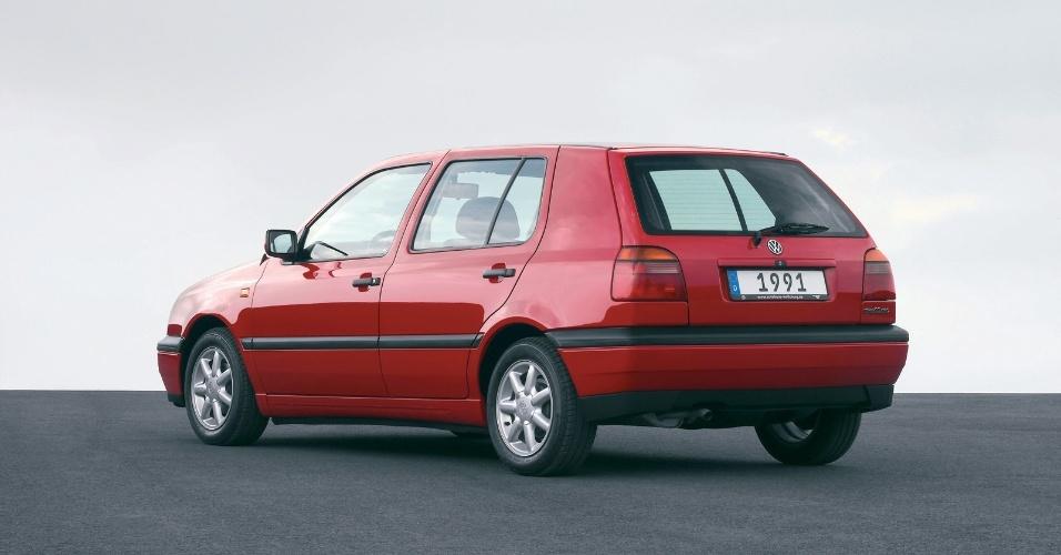 O Golf 3 também teve uma versão GTI, que teve motores 2.0 8V de 115 cv e 2.0 16V de 150 cv