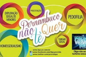 Cartaz considerado homofóbico causou reação em redes sociais de pernambuco