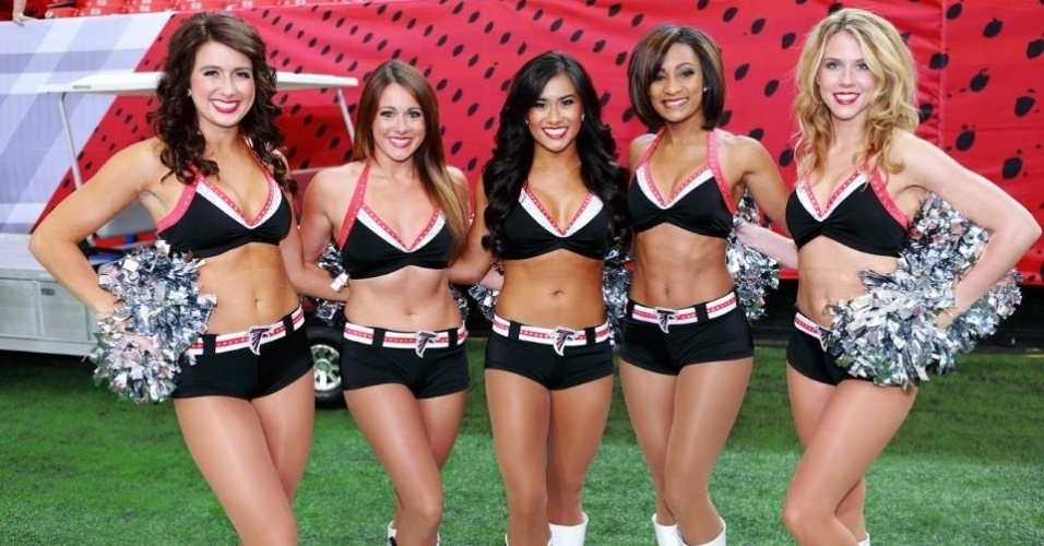 Cheerleaders do Atlanta Falcons