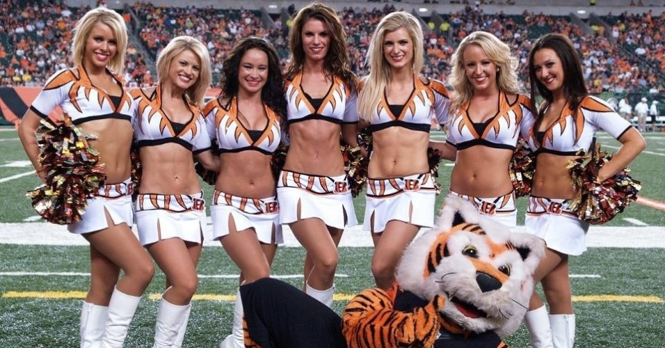 Cheerleaders do Cincinnati Bengals