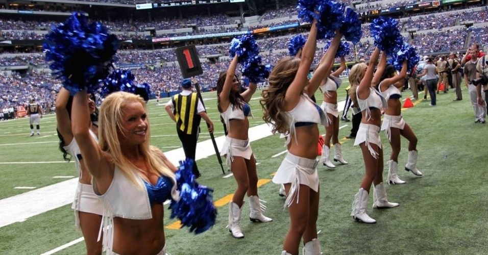 Cheerleaders do Indianapolis Colts