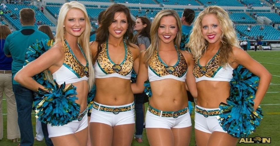 Cheerleaders do Jacksonville Jaguars