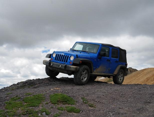 Em terra de jipe e trilhas imensas, quem tem Jeep é rei