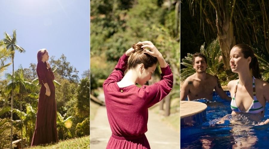 Nathalia Dill esteve em um spa, na região serrana do Rio, no último final de semana (4/9/12)