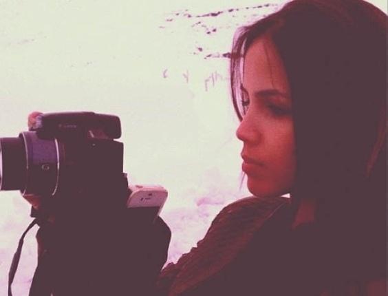 Pérola Faria publica imagem no Chile (4/9/2012)