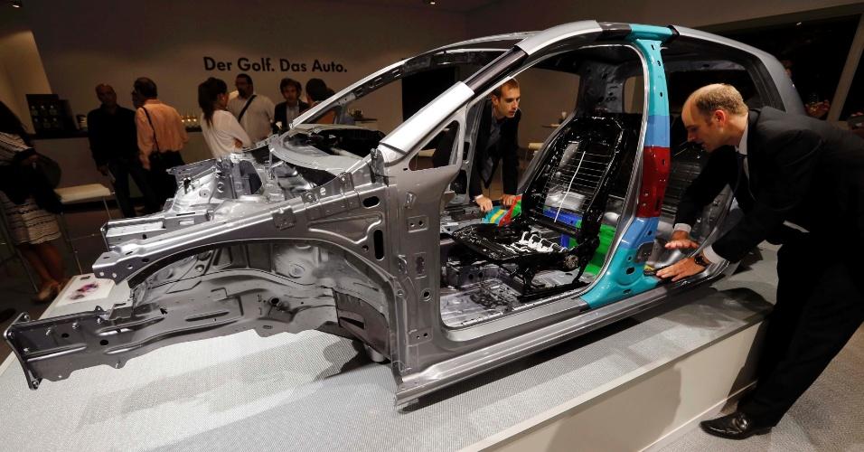 Plataforma MQB, ultraversátil, é alma do novo Golf e deve dar origem a diversos novos modelos do Grupo Volks
