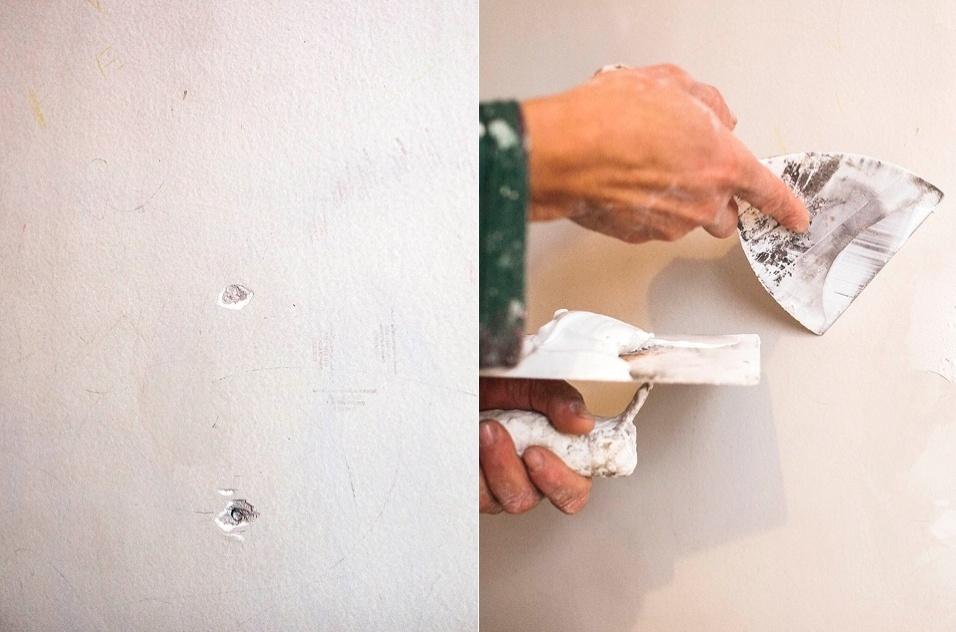 preparação de parede