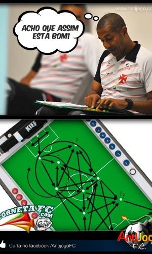 Corneta FC: Cristóvão revela o esquema tático do Vasco