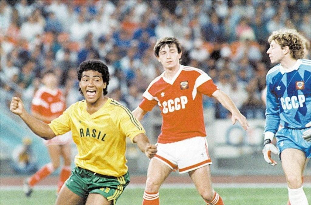 Romário foi artilheiro dos Jogos de 88 e até marcou contra a União Soviética na final, mas Brasil levou a virada e ficou com a prata