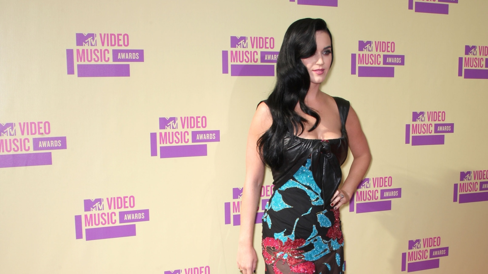 A cantora Katy Perry participa do MTV Video Music Awards 2012 no Staples Center, em Los Angeles