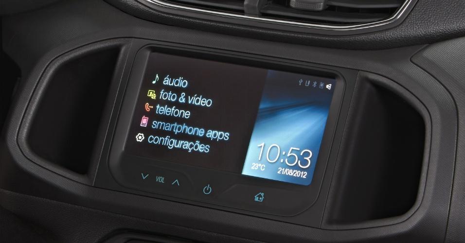 Chevrolet Onix LTZ interior