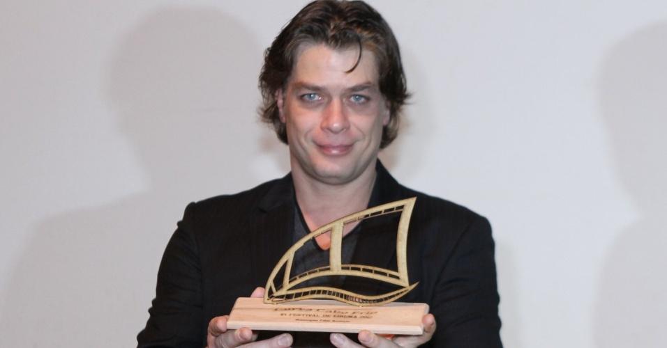 Fábio Assunção recebe homenagem no prêmio