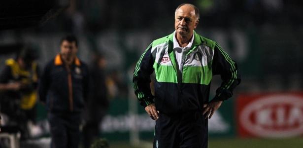 A derrota para o Vasco e a penúltima colocação culminaram com a queda de Felipão