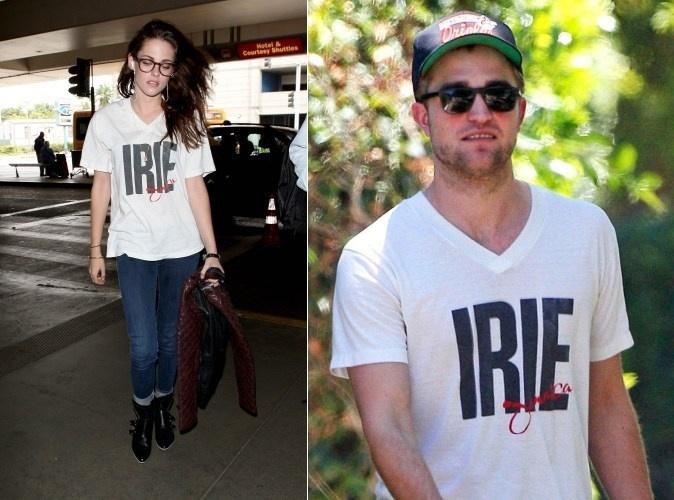 Kristen Stewart é vista usando roupas do ex-namorado Robert Pattinson