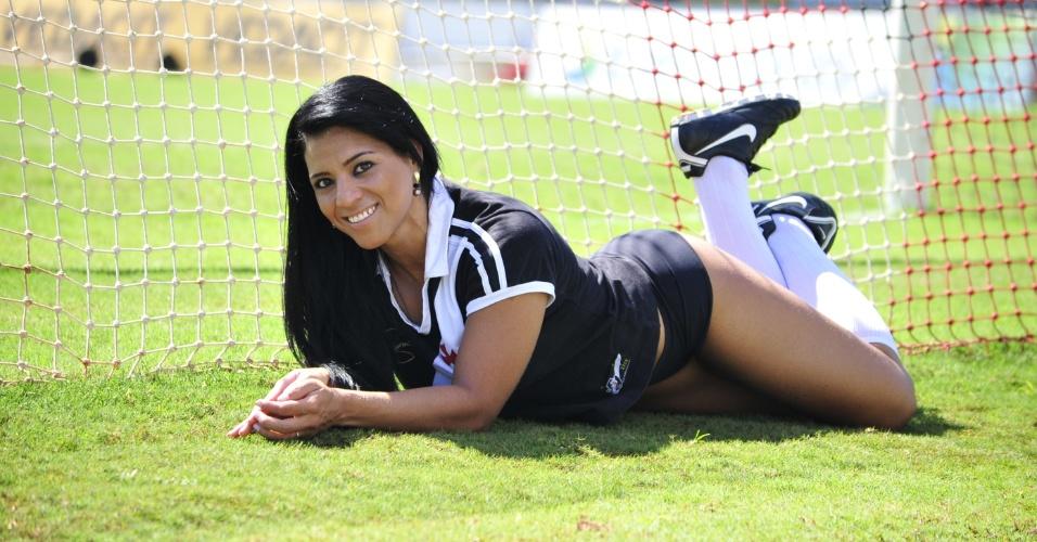 Patrícia Fonseca, a bela do Vasco