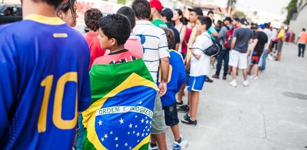 Torcedores pagaram no mínimo R$ 80 para ver o amistoso entre Brasil e África do Sul no Morumbi