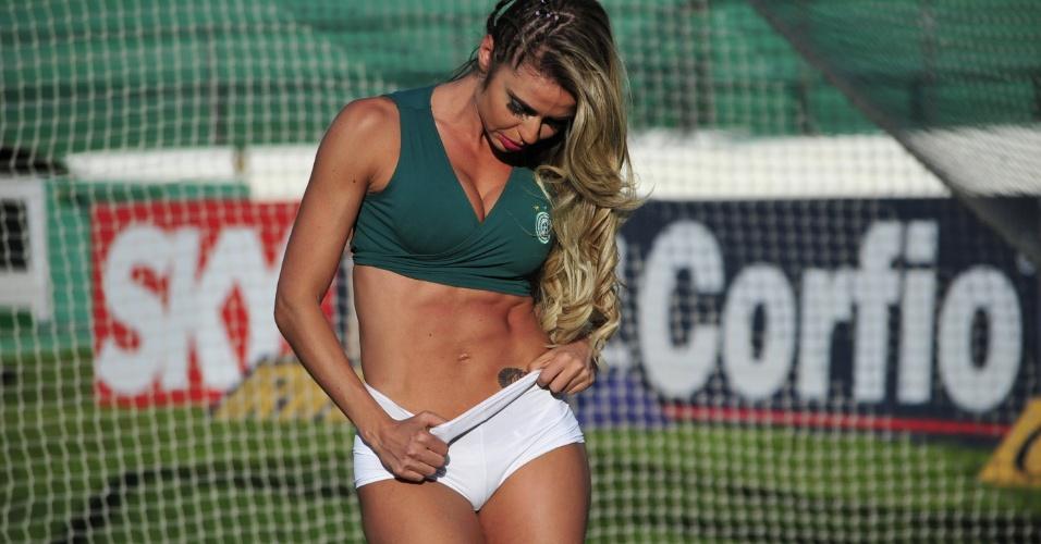 Viviane Carlstrom, a bela do Guarani