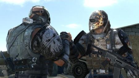 """Melhor com os amigos: """"Army of Two"""" é um dos muitos games que apostam no co-op"""