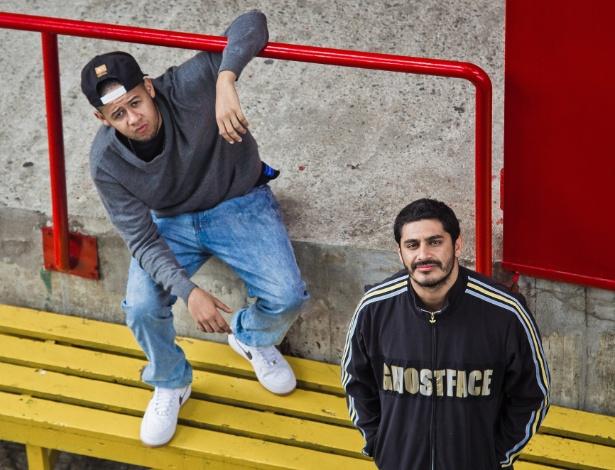 Emicida e Criolo gravam DVD juntos neste sábado (8), no Espaço das Américas, em São Paulo