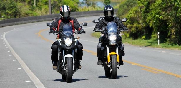 """Honda NC 700X e Kawasaki Versys 650: um duelo para saber qual das """"estradeiras da cidade"""" é a melhor"""