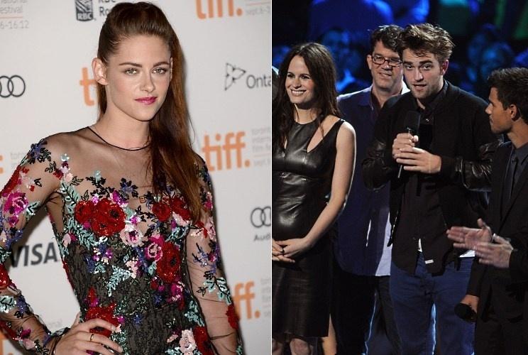 Kristen Stewart faz sua primeira aparição pública em Toronto, enquanto Pattinson participa do VMA 2012 (6/9/12)