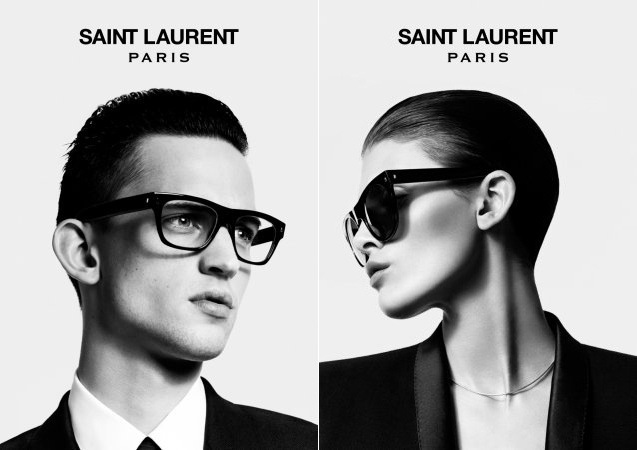 Primeira campanha da Saint Laurent desde a mudança de nome