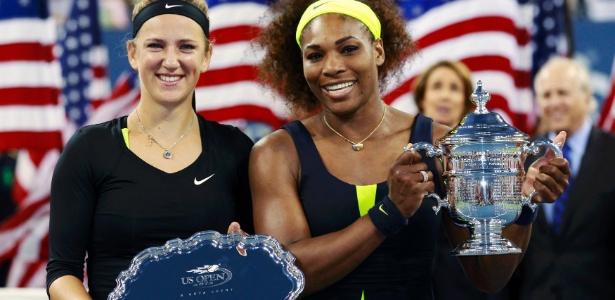 Serena perdeu só um set no Aberto dos EUA, mas dominou Azarenka e levou título