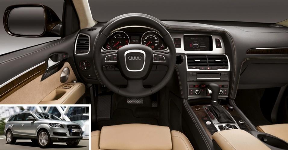 A Audi cobra a bagatela de R$ 20.366,50 pelo sistema de navegação completo do Audi Q7 (sim, o GPS), o preço de muito carro seminovo no país