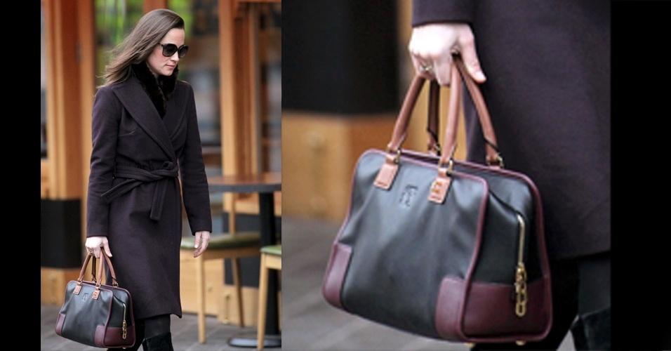 Atual ícone de estilo, a irmã da duquesa Kate, Pippa Middleton, escolheu o modelo