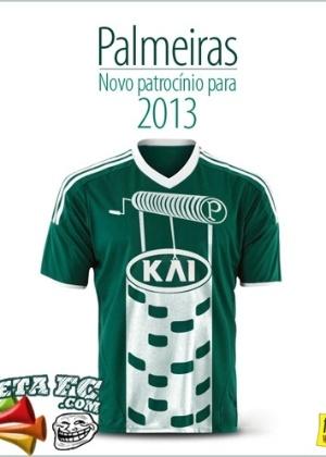 Corneta FC: Palmeiras acerta com novo patrocinador para 2013