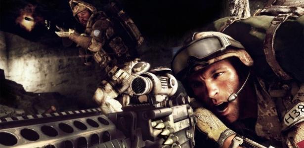 Imagem do jogo Medal of Honor: Warfighter, que utilizou histórias reais de soldados dos EUA