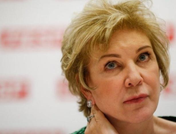 11.set.2012 - A senadora Marta Suplicy (PT-SP) aceitou o convite da presidente Dilma Rousseff para ser a nova ministra da Cultura, no lugar de Ana de Hollanda