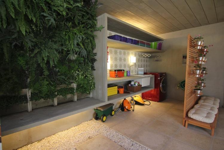 banco de concreto para jardim em jundiai : banco de concreto para jardim em jundiai: Gustavo Calazans tem soluções criativas para decoração – BOL Fotos