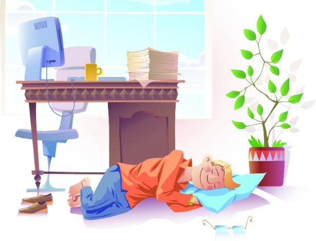 Quem sofre de narcolepsia pode ter ataques de sono que acontecem a qualquer momento do dia