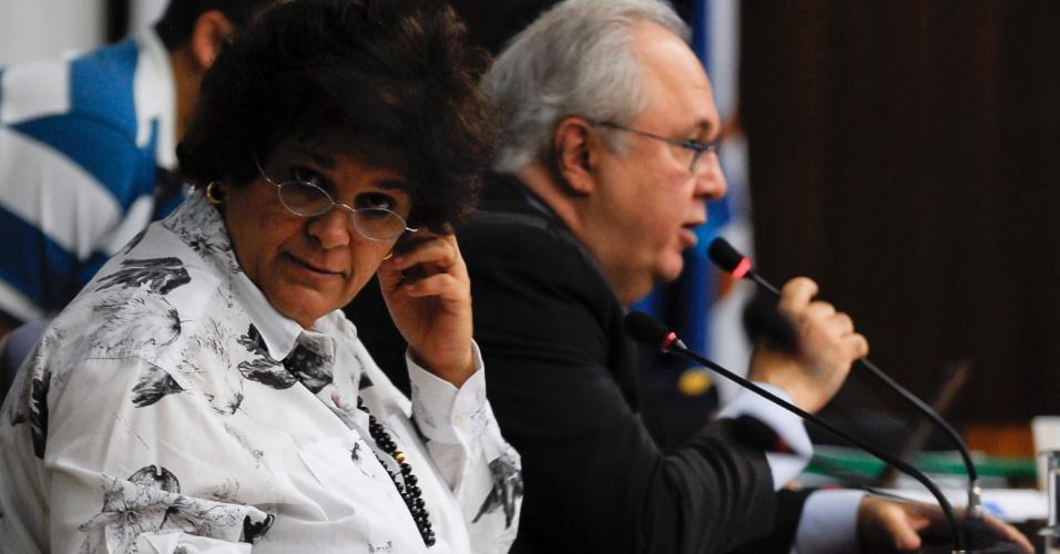 12.set.2012 - A ministra do Meio Ambiente, Izabella Teixeira, abre nesta quarta-feira (12) a 107ª Reunião Ordinária do Conselho Nacional do Meio Ambiente (Conama) na qual estão em discussão temas referentes à Conferência das Nações Unidas para o Desenvolvimento Sustentável, a Rio+20, e à matriz energética brasileira
