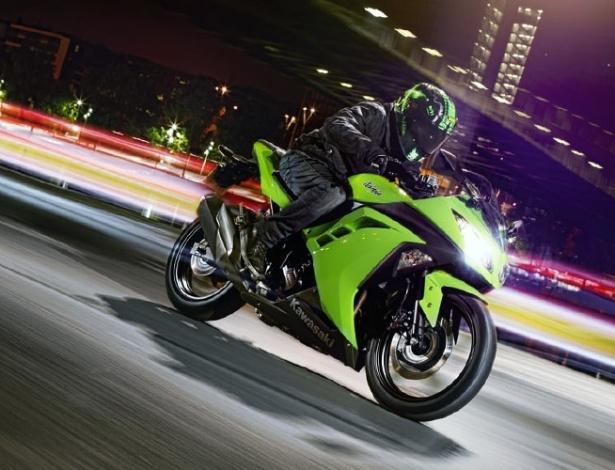 Ninja 300 está mais forte, mais bonita e ainda mais esportiva