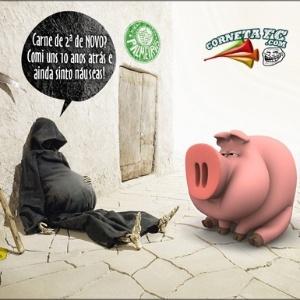 Corneta FC: Má fase coloca porco como carne de segundona