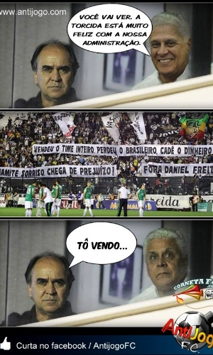 Corneta FC: Marcelo Oliveira é recebido com surpresa desagradável no Vasco