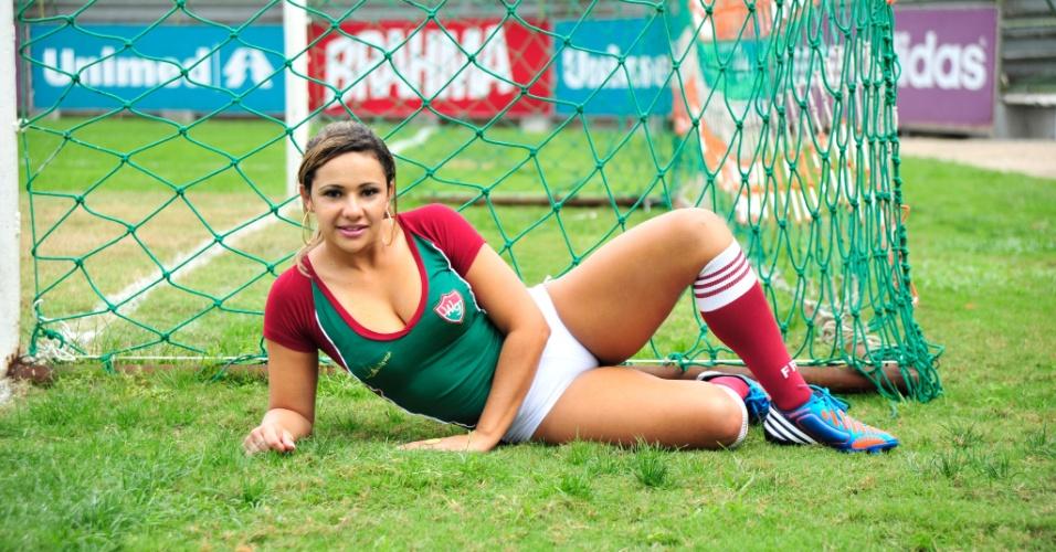 Michelly Cardim, a bela do Fluminense
