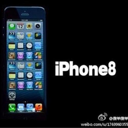 Aqui, seguindo a lógica, já que o iPhone 5 vem com 5 fileiras de aplicativos, o iPhone 8 vem com... oitov